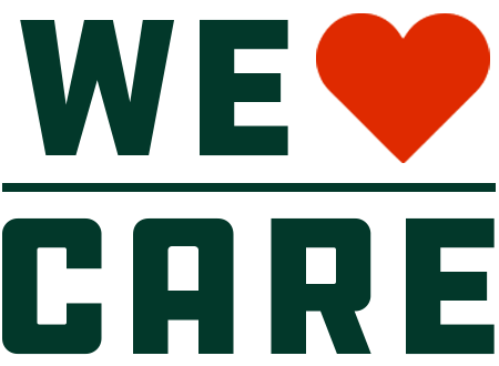 We Care Badge